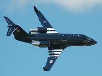 executive jet type challenger 604 3D model