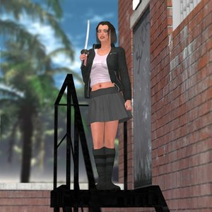 angel clothing poser v4 3D