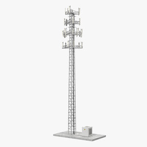 cellular tower site 2 3D model