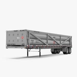 liquefied natural gas transport 3D model