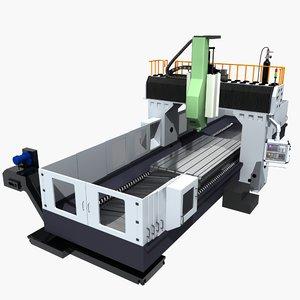 3D model milling machine