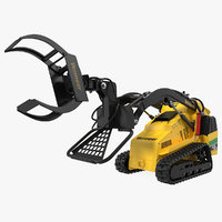 3D vermeer s450tx loader grapple