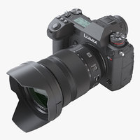 3D photoreal mirrorless camera panasonic model