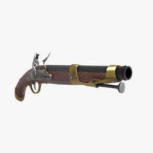 weapon gun pistol 3D model