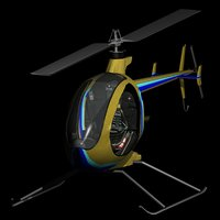 mosquito xet helicopter 3D model