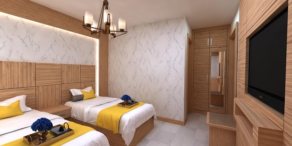 design hotel 3D model