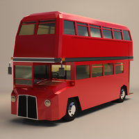 Low Poly London Bus