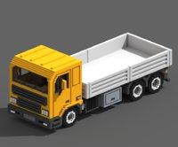 Voxel Flatbed Truck