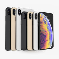 apple iphone xs colors 3D