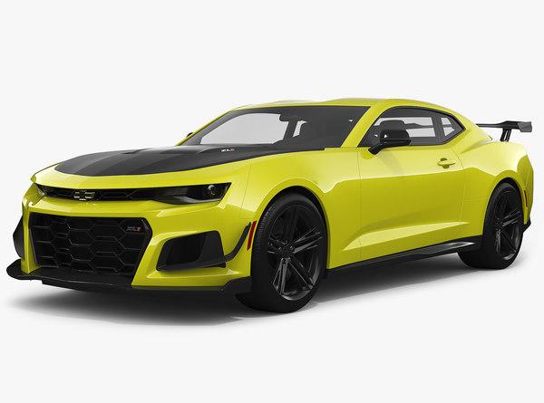 chevrolet camaro zl1 2018 3D model