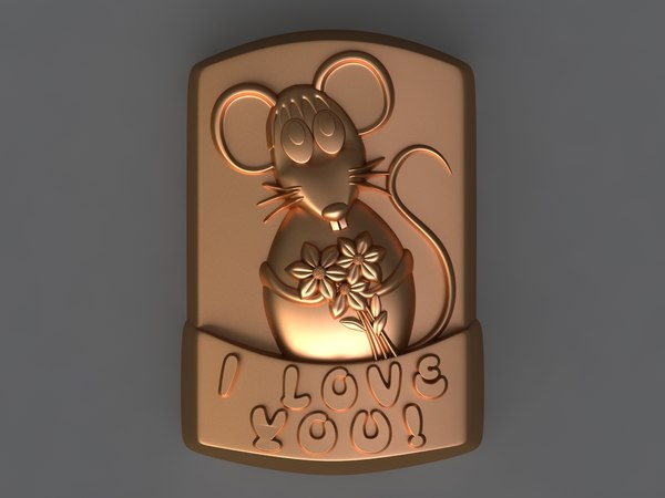 mouse mold hand 3D model