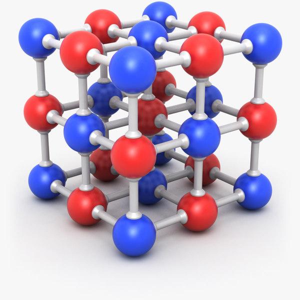 3D model molecule 3