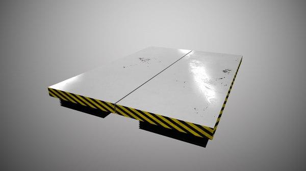 3D lifting table model