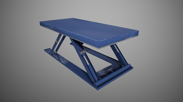 lifting table x 3D