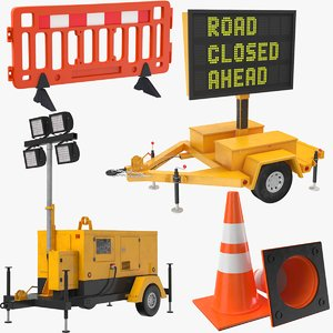 construction equipment 3D model