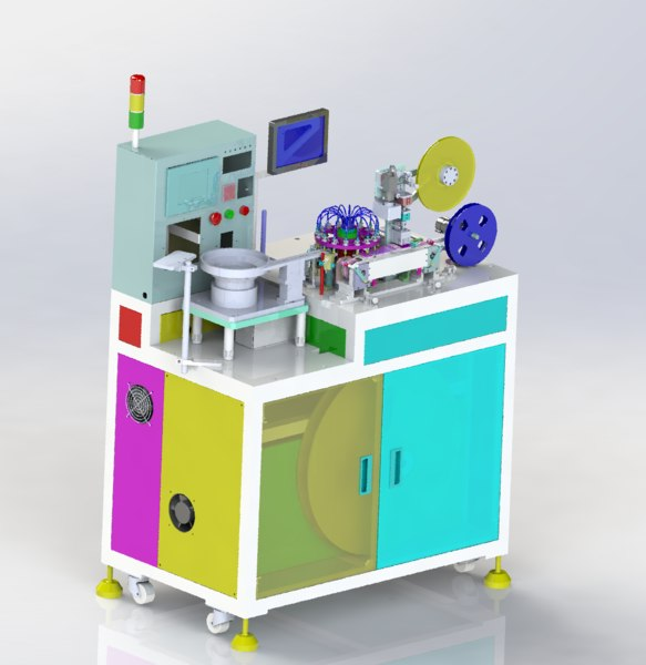 small product packaging machine 3D