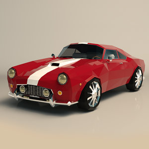 car muscle ar model