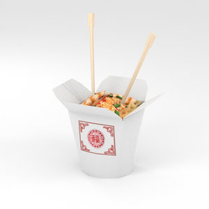 noodles chinese 3D