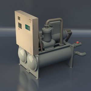pump mechanical 3D model