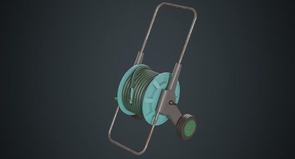 hose cart 1b 3D model
