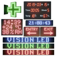 LED display modules. Set 02
