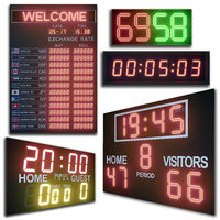 3D led display modules set