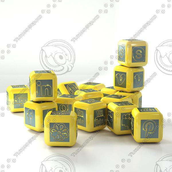 social network cubes model