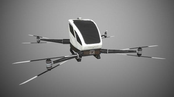 3D drone ehang