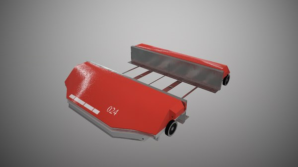 3D cyclone carrier model