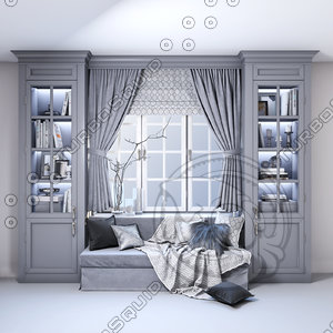 soft area window tones 3D