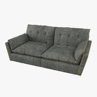 baxter sorrento sofa 3D model