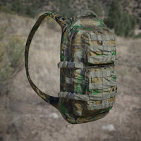 Army Backpack 3D Model (Jungle, Desert, Urban camo)