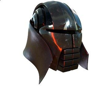 3D starkiller helmet star wars