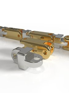 baraka printable chain link 3D model