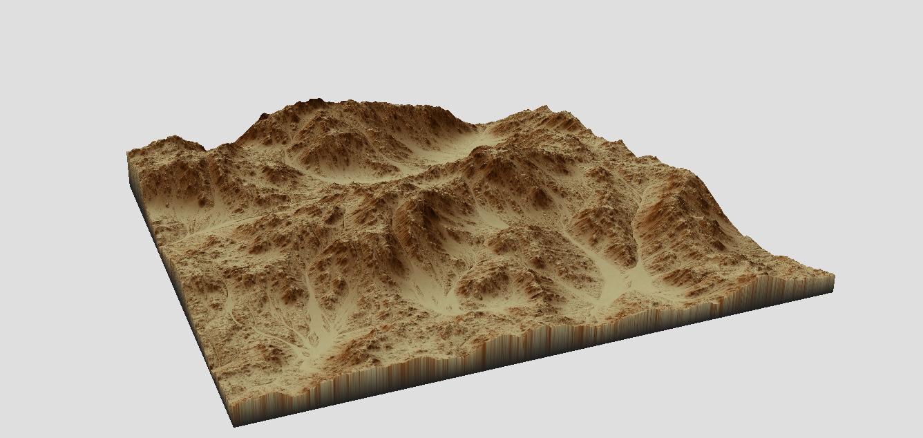 3D magical desert