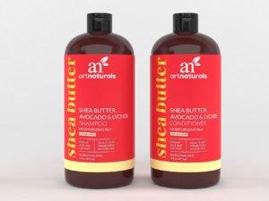 3D artnaturals shea-butter shampoo conditioner