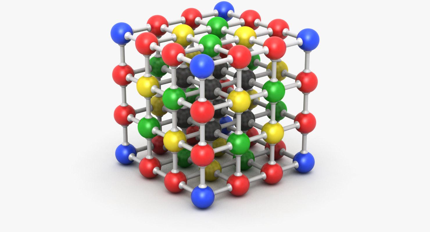 molecule 4 3D model