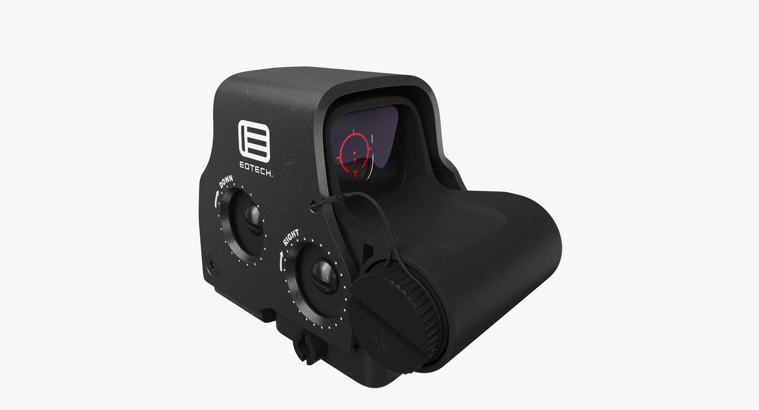 3D eotech exps3 scope