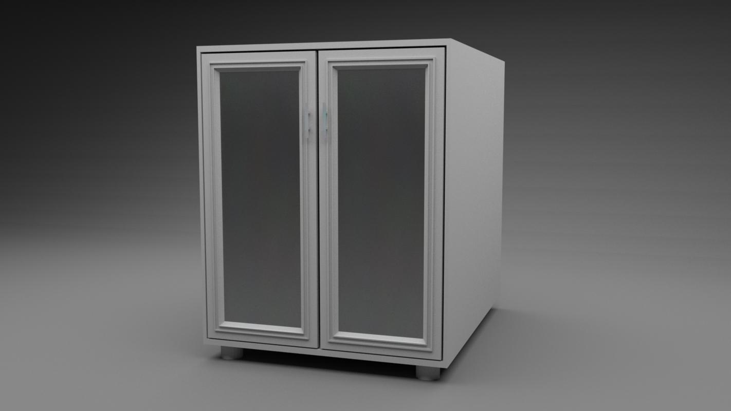 low-poly blender 3D model