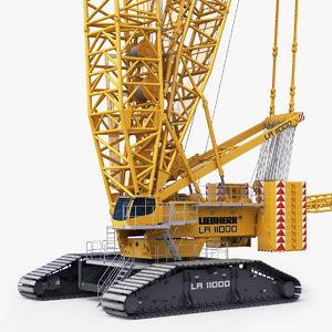 3D model liebherr lr 11000 heawy