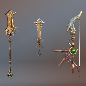 fantasy weapon model