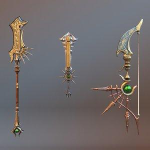 fantasy weapon model