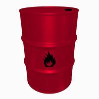 Steel Barrel (Flammable)