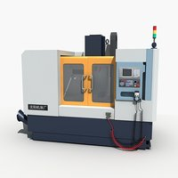 3D cnc machine tool model