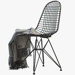 3D wire chair dkr model