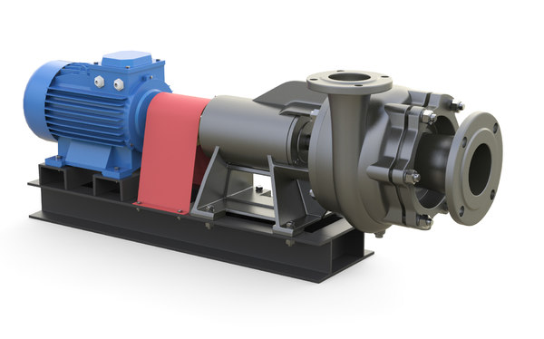 pump industrial nk 3D model