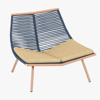 roda laze lounge chair 3D