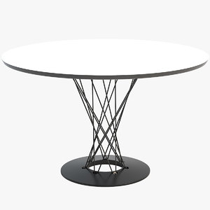 3D vitra dining table model