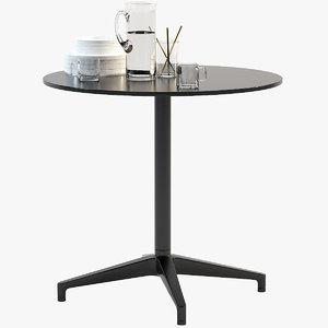 vitra bistro table 3D model