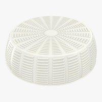 3D realistic wheel soft salty model